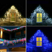 5-25 Meter Christmas Xmas Snowing Icicle Indoor Outdoor Led String Fairy Lights