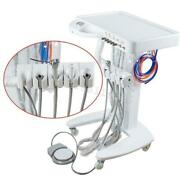 Portable Mobile Dental Delivery Unit Cart Treatment 3-way Water Syringe 4 Hole