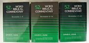 Word Biblical Commentary Volumes 52a - 52c Revelation 1-22 By David E. Aune, Hc