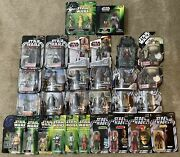 Star Wars Action Figure Lot Mos Eisley Cantina Aliens Patrons Tatooine 30 Items