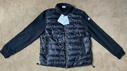 Moncler Mens Maglia Cardigan Down Jacket Size 8 Xxxl Brand New With Tags