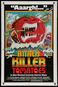 1979 Attack Of The Killer Tomatoes 1sh Movie Poster / David Weisman