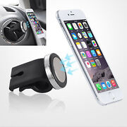 Car Interior Air Vent Magnetic Phone Gps Mp3 Holder Mount Stand Accessory Parts