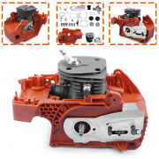 For Husqvarna 350 340 345 Chainsaw Crankcase Piston Cylinder motor Assembly New