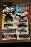 Lot Of 8 Hot Wheels Various Fast And Furous Cars Die Cast Cars