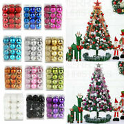 Christmas Tree Ball Ornament Baubles Birthday Party Wedding Decorations