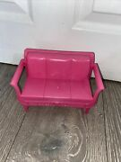 Barbie Malibu Dream House Replacement Spare Couch Sofa Pink