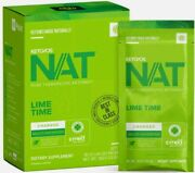 Pruvit Keto Os Nat Charged 20 Packets New Box Lime Time