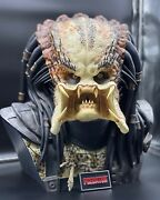 Sideshow Collectibles Life Size 11 Scale Predator Bust Rare 54