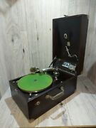 1920and039s Vv-50 Victor/victrola Portable Talking Machine C-2713 Phonograph 78rpm
