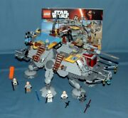 Star Wars Captain Rexand039s At-te Set 75157 - Lego - 2016 - Used W/ Manual