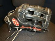 Shannon Stewart Game Used And Signed Rawlings Baseball Glove Blue Jays Twins