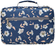 Bible Cover Case Carrier Carrying Bag With Handles For Women Ladies A Navy