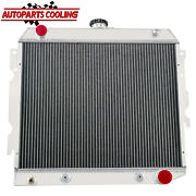 4 Row Aluminum Radiator For 1970-1973 Dodge Plymouth Small Block 22wide