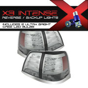 High-power Cree Backup For 08-11 Toyota Land Cruiser 4x4 Led Rear Tail Lamps