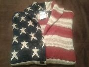 American Flag Sweater -starsandstripes Red/blue -womenand039s Size M Nwt