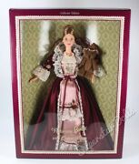 1999 Collector Edition Victorian Barbie Doll With Cedric Bear