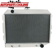 4 Row Aluminum Radiator For 1968-74 Dodge Plymouth Small Block 26 Wide Core