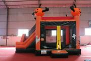 20x13x13ft Halloween Commercial Inflatable Pumpkin Bouncers House W/ Air Blower