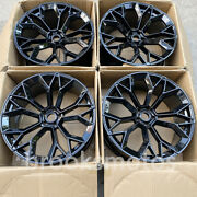 21 New Gloss Black Style Wheels Rims Fits For 2003-2016 Porsche Cayenne 21x10