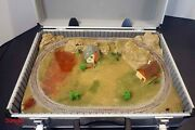 Custom N Scale Briefcase Layout With Kato Old Timers Steam Locomotive And Cars