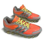 Adidas Springblade Womenand039s Size 8 D66233 Running Trainer Orange Silver