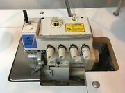 Juki Industrial Serger Mo 3700 With Motor Table And Light - 5 Treads