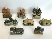 David Winter Cottages Lot Of 8 1980and039s With Boxes And Coaand039s John Hine