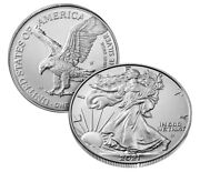 American Eagle 2021 One Ounce Silver Proof Coin W 21egn - Lot Of 3 - Sealed