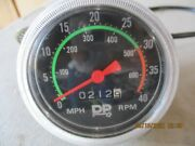 Vintage Bicycle Speedometer 0-40 Mph Classic Look Unknown Who Made This Huffy