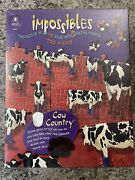 New Bepuzzled Impossibles Cow Country 750 Piece Jigsaw Puzzle