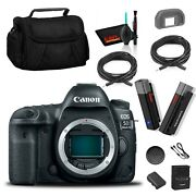 Canon Eos 5d Mark Iv Dslr Camera Body Only Content Creator Accessory Kit