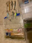 Tackle Box Loaded With Lures Plano