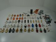 Lot Of 64 Lego Star Wars Mini Figures And Accessories Look