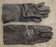 Pair Usaf Vietnam Era Leather Pilots Gloves 62 And 64 Dated