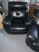 Couches Sofas Used Two Recliners One Couch