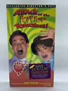 Attack Of The Killer Tomatoes Vhs Directors Cut Factory Seal W/ Promo Seeds Vb3