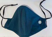 Made To Move Adjustable Face Mask By Athleta New Teal Green One Size