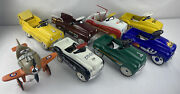 Lot Of 8 Xonex Pedal Cars For Parts Or Play Imperfect No Boxes Or Coas