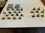 Lego Minifigures Simpsons Series 1 Complete Set 16 Figs And 8 Series 2 Figs