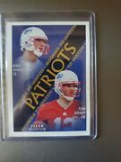 2000 Skybox Dominion Tom Brady And 2000 Fleer Tradition Rookie Cards Sold As A Set