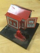 Vintage Marx Watchman On Duty / R.r. Property Employees Only Shack O Gauge
