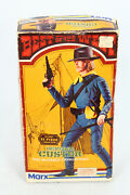 1970's Marx Best Of The West General Custer W/box Original And Near Complete