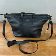 Kate Spade Womenand039s Saturday Satchel Crossbody Black Bag 100 Cow Leather