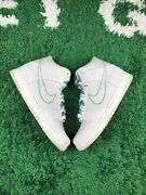 Nike Dunk High Se Gs First Use Green Noise Size 6.5y Women Size 8 New Dd0733-001