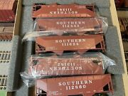 Southern Aar 50 Ton Coal Hoppers Ho By Athearn Blue Box 5589 Includes 5 Kits