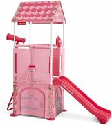 Radio Flyer Play And Fold Away Princess Castle, Toddler Climber, Ages 2-5 Nib