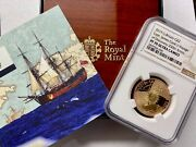 2019 Great Britain Gold Andpound2 Captain Cook Ngc Pf70 Ucam