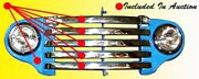 1948 1949 1950 Ford Pickup Truck Steel Grill And Grill Bar Trim Set