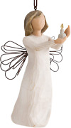 Willow Tree Angel Of Hope Ornament Sculpted Hand-painted Figure